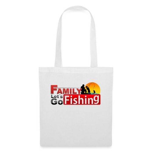 FAMILY LET´S GO FISHING FONDO - Bolsa de tela