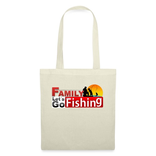 FAMILY LET´S GO FISHING FONDO - Bolsa de tela