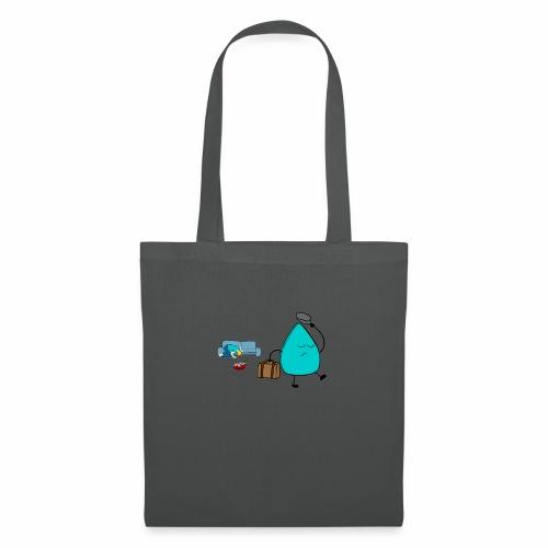 plectrumblauw - Tas van stof