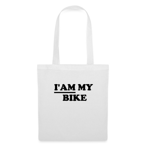 i am my bike - Stoffbeutel