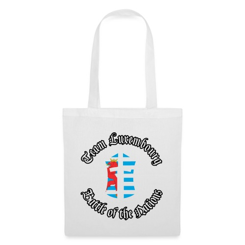 BotN Luxembourg Logo with outlined titles round - Tote Bag