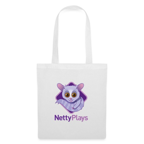 Netty Logotype png - Tote Bag