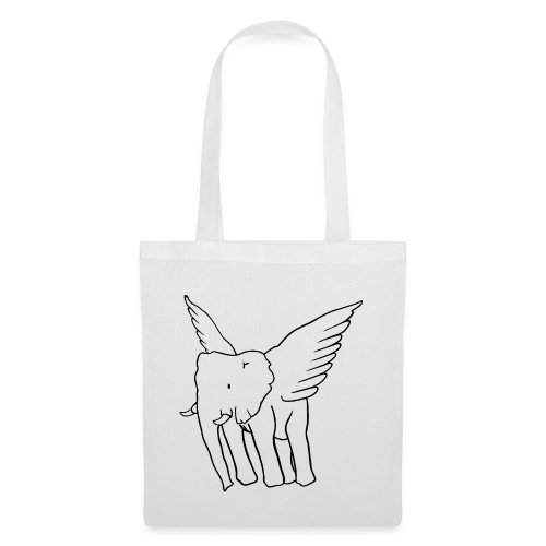 logo original whitegreyblack - Tote Bag