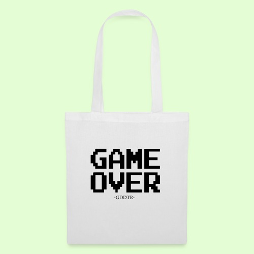 Game Over - Stoffbeutel