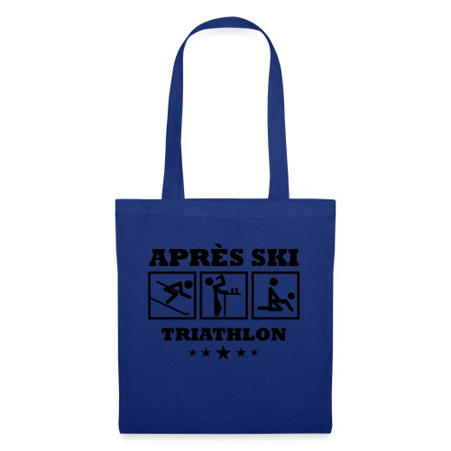 Apres Ski Triathlon | Apreski-Shirts gestalten - Stoffbeutel