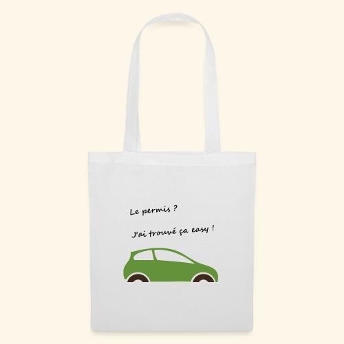 Mon permis ? Easy ! - Tote Bag