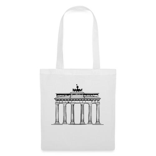 Brandenburger Tor Berlin Victoria Streitwagen - Stoffbeutel