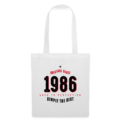 original since 1986 simply the best 30th birthday - Tote Bag