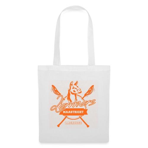 Llamas - Maastricht Lacrosse - Oranje - Tas van stof