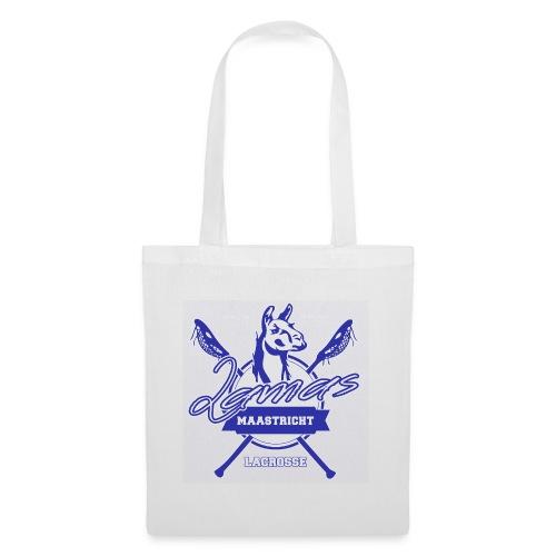 Llamas - Maastricht Lacrosse - Blauw - Tas van stof