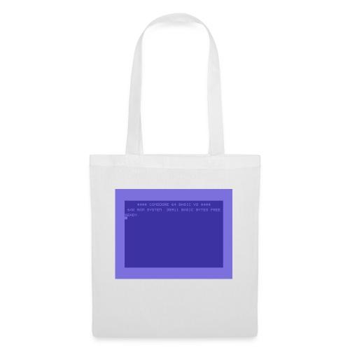 c64 Startscreen - Stoffbeutel
