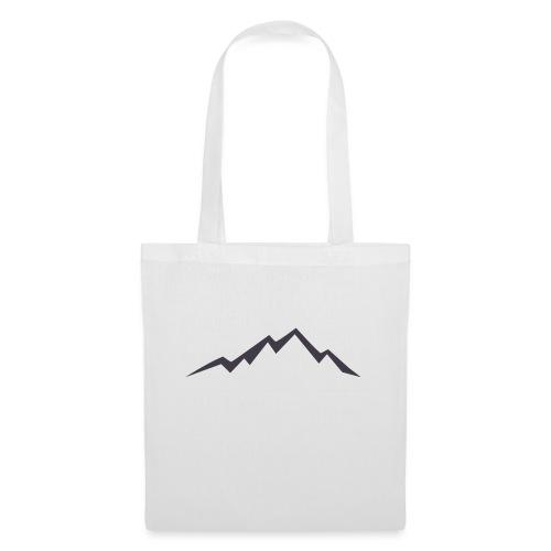 swiss alps clipart sihllouette ski mountains - Tas van stof