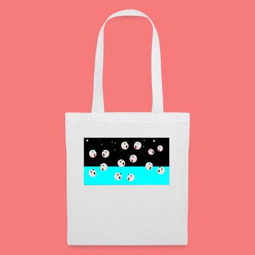 emoji looking for spacebar - Tote Bag