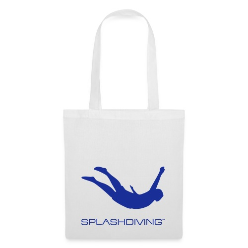 splashdiving springer blau - Stoffbeutel