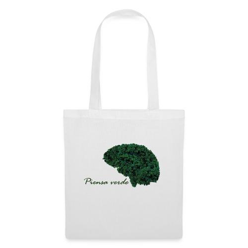 Piensa verde - Bolsa de tela
