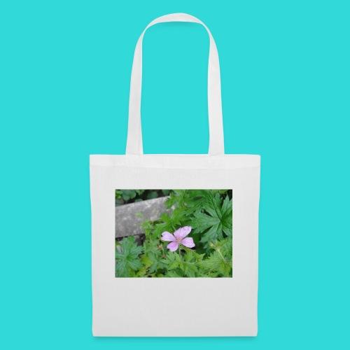 shirt bloem - Tas van stof