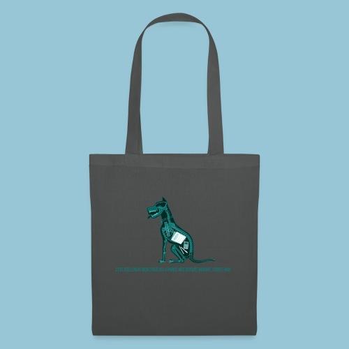 T-shirt pour homme imprimé Chien au Rayon-X - Tote Bag