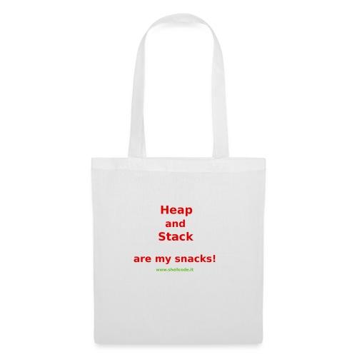 Stack Snack - Shellcode.it - Borsa di stoffa