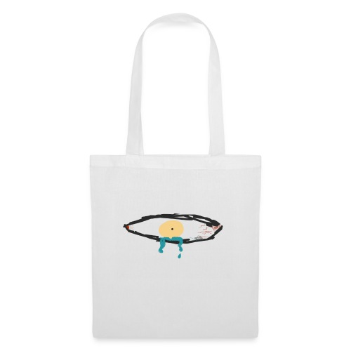 Crying Eye. (Men) - Tas van stof