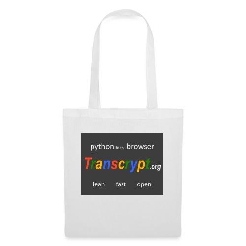 Transcrypt Logo - Tas van stof