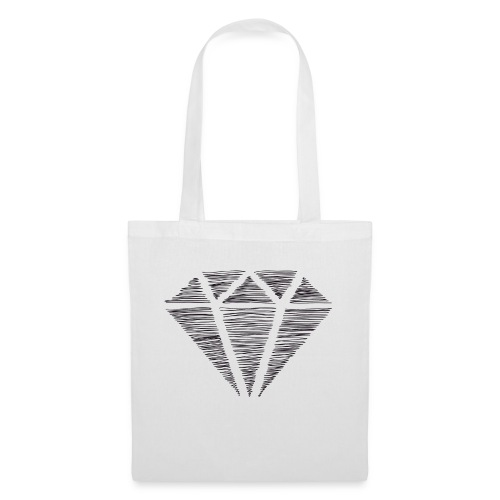 Diamante - Bolsa de tela