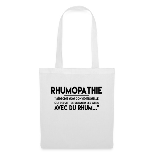 Rhumopathie - Sac en tissu
