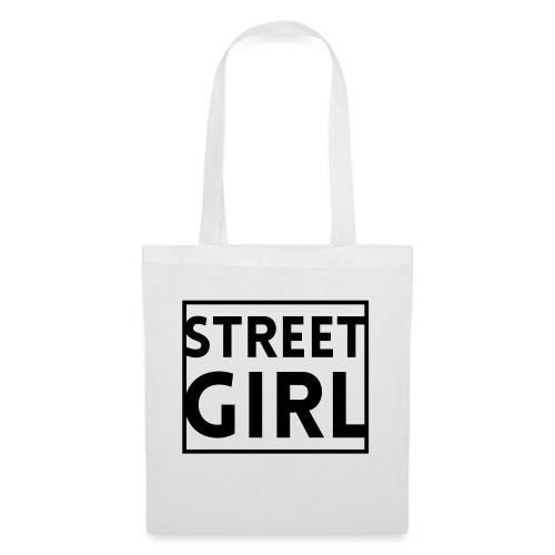girl - Sac en tissu
