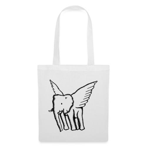 logo 2 whitegrey black - Tote Bag