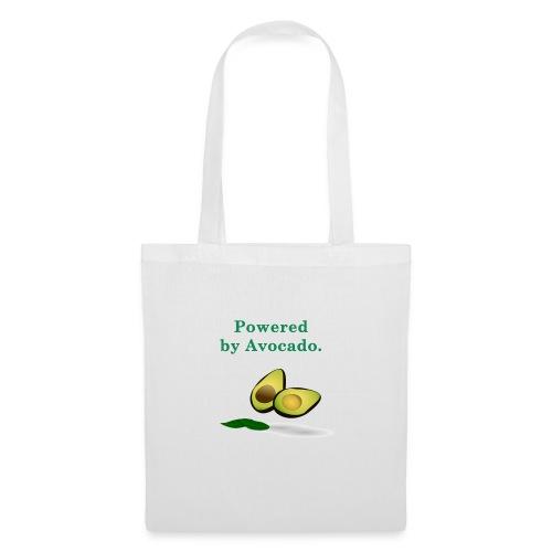 T-shirt ; Powered by avocado - Tote Bag