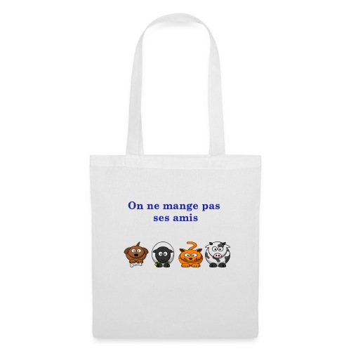 T-shirt : On ne mange pas ses amis. - Tote Bag