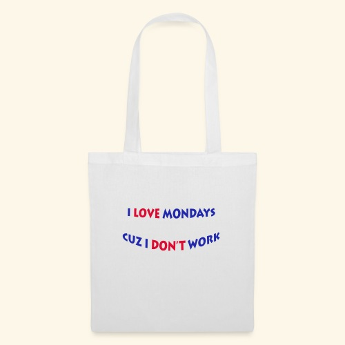 Love Mondays - Stoffbeutel
