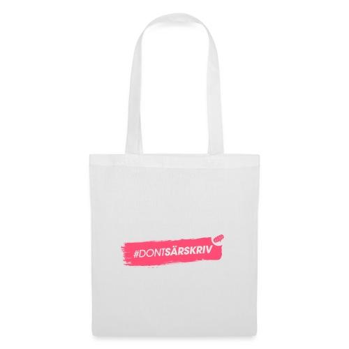 # DONTSÄRSKRIV - Tote Bag