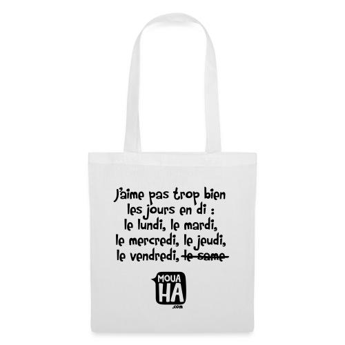 JOURS EN DI - Tote Bag