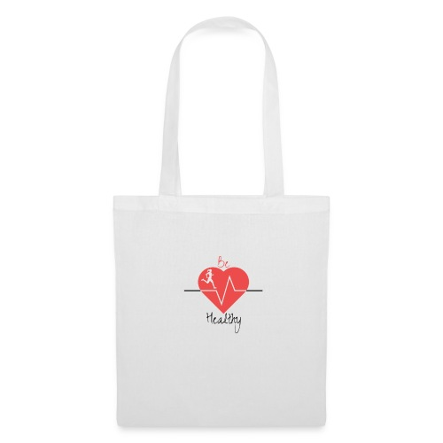 Logo Be Healthy - Tote Bag