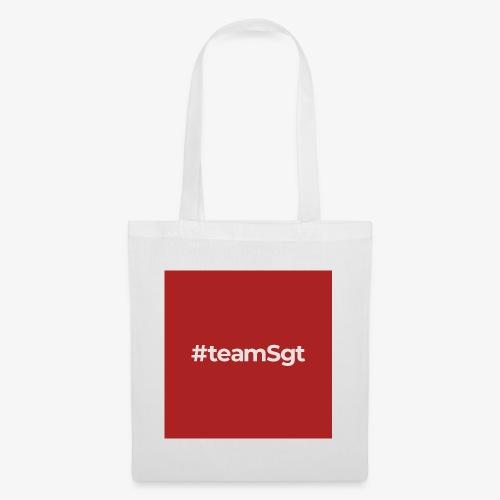 #teamSgt - Tas van stof