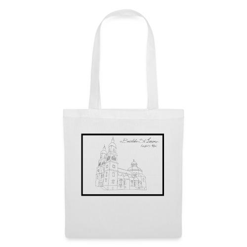 T Shirt Basilika St Lorenz Kempten Allgaeu - Stoffbeutel