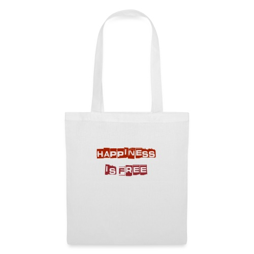 HAPPINES IS FREE - Tote Bag