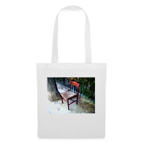 silla - Bolsa de tela