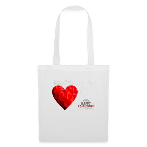 happy valentines day love - Sac en tissu
