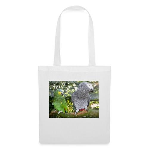 Amazone og grå - Mulepose