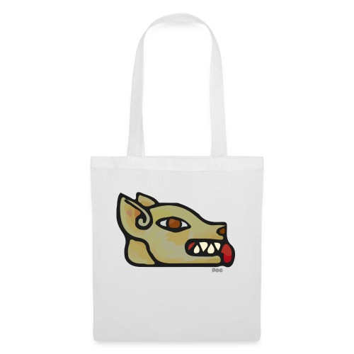 Aztec Icon Dog - Tote Bag