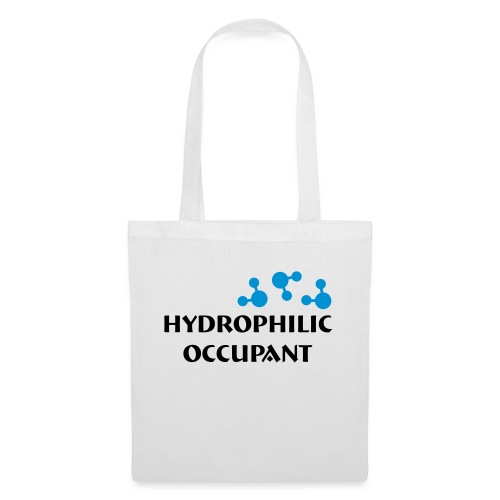 Hydrophilic Occupant (2 colour vector graphic) - Tote Bag