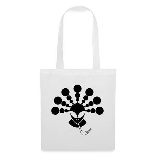 The Smoking Alien Black - Tote Bag