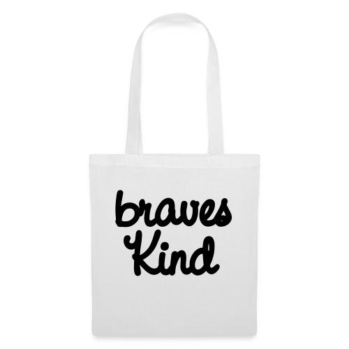 braves kind - Stoffbeutel