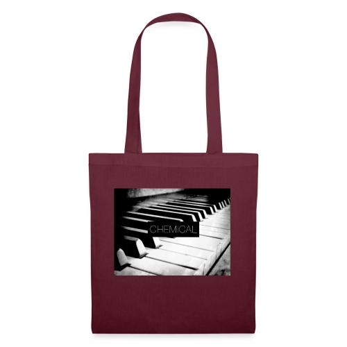 Piano black&White - Borsa di stoffa