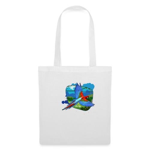 Perroquet jungle - Sac en tissu