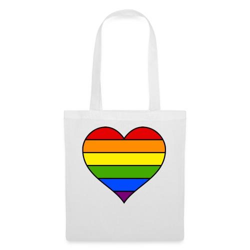 Rainbow Heart - Tas van stof
