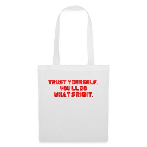 Trust yourself. You'll do what's right. #mrrobot - Tote Bag