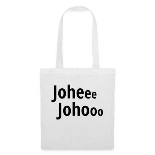 Premium T-Shirt Johee Johoo - Tas van stof