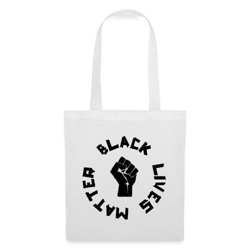 BLACK LIVES MATTER ROUND - Stoffbeutel